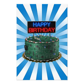 Feliz cumpleaños, friki cojinete