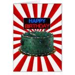 Feliz cumpleaños, friki felicitacion