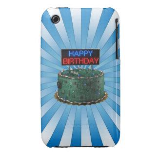 Feliz cumpleaños friki Case-Mate iPhone 3 cobertura