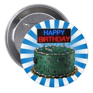 Feliz cumpleaños friki pins