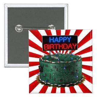 Feliz cumpleaños friki pin