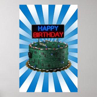 Feliz cumpleaños, friki póster