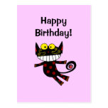¡Feliz cumpleaños! (gato) Postal