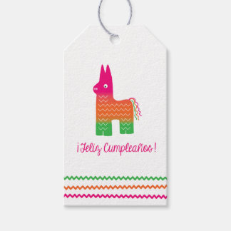 Feliz Cumpleanos Gift Tag Pack Of Gift Tags