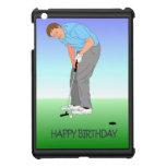 ¡Feliz cumpleaños, golfista! iPad Mini Protector