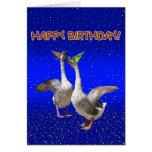 Feliz cumpleaños - Goosebumps Felicitacion