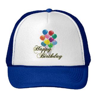 Feliz cumpleaños - gorra del cumpleaños D4