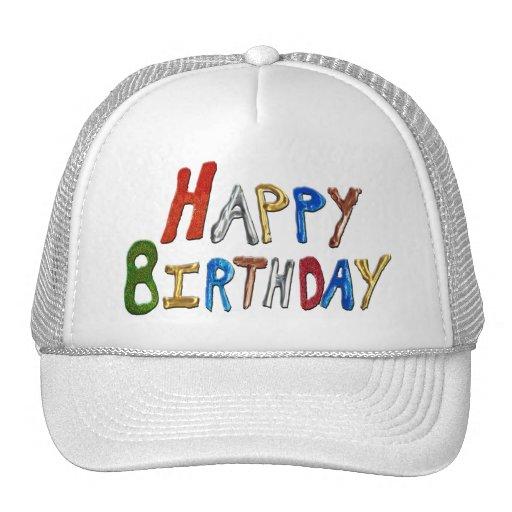 Feliz cumpleaños gorras