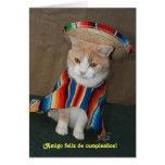 Feliz cumpleanos! greeting card