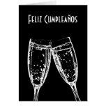 Feliz Cumpleaños / Happy Birthday Spanish Language Greeting Card