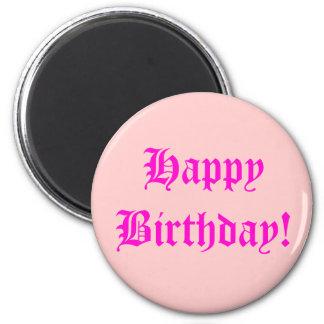 ¡Feliz cumpleaños! Imán