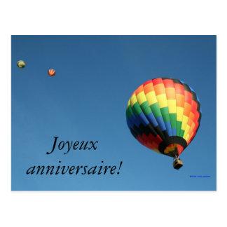 ¡Feliz cumpleaños internacional!  ¡Lengua del Postal