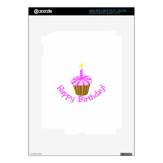 ¡Feliz cumpleaños! iPad 3 Pegatinas Skins