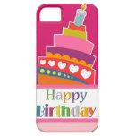 Feliz cumpleaños iPhone 5 carcasas