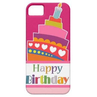 Feliz cumpleaños iPhone 5 funda