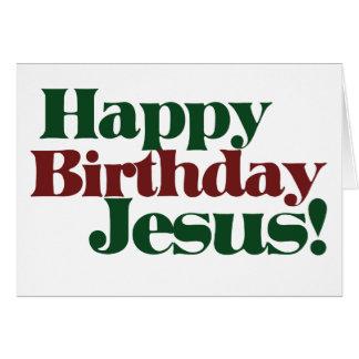 Feliz cumpleaños Jesús es navidad Felicitaciones