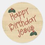 Feliz cumpleaños Jesús Pegatinas