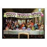 ¡Feliz cumpleaños Jesús! Tarjeta