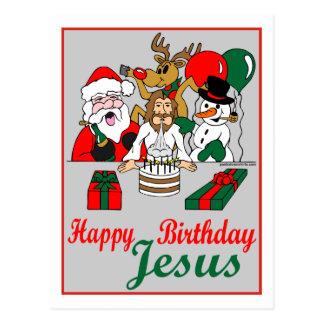 Feliz cumpleaños Jesús Tarjeta Postal