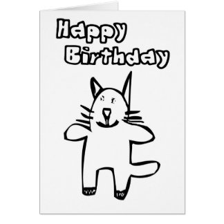 Feliz cumpleaños Kool Kat Felicitaciones