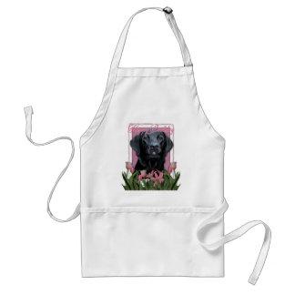 Feliz cumpleaños - Labrador - negro - indicador Delantal