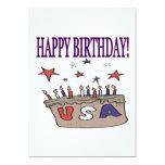 Feliz cumpleaños los E.E.U.U. Anuncio