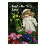 Feliz cumpleaños Lucy Tarjetas
