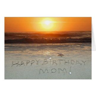 ¡Feliz cumpleaños, mamá! Tarjeta De Felicitación
