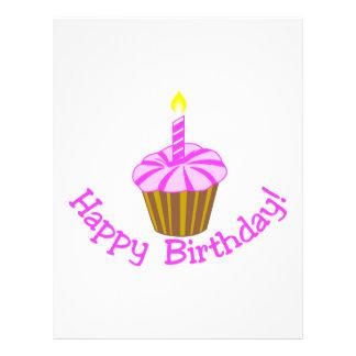 ¡Feliz cumpleaños! Plantilla De Membrete