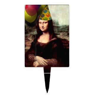 Feliz cumpleaños Mona Lisa Decoración Para Tarta
