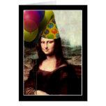 Feliz cumpleaños Mona Lisa Felicitación