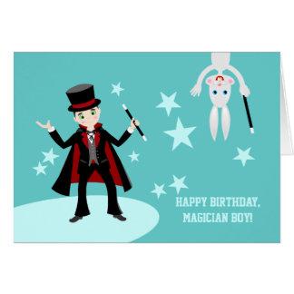 ¡Feliz cumpleaños, muchacho del mago! - dijo el Felicitaciones