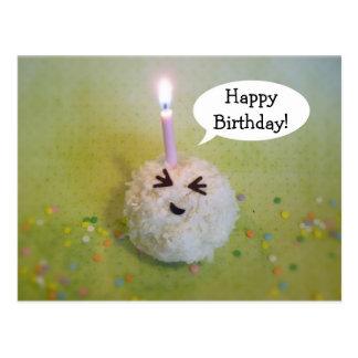 Feliz cumpleaños Onigiri - postal del cumpleaños