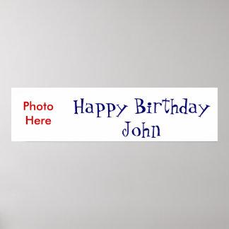 Feliz cumpleaños poster