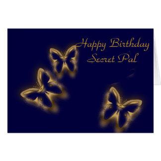Feliz cumpleaños, PAL secreto Tarjeta De Felicitación