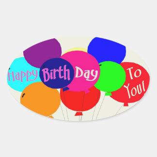 ¡Feliz cumpleaños! - Pegatina
