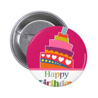 Feliz cumpleaños pins