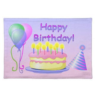 Feliz cumpleaños Placemat Manteles