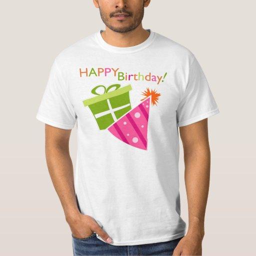 Feliz cumpleaños playera