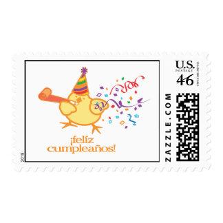 Feliz Cumpleanos Postage Stamps