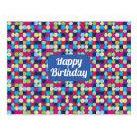 Feliz cumpleaños - postal