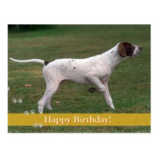 ¡Feliz cumpleaños! - postal del perro