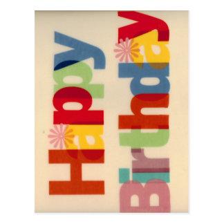 Feliz cumpleaños postales
