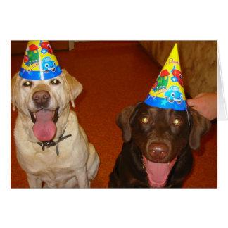 Feliz cumpleaños Prima y Jake Tarjetas