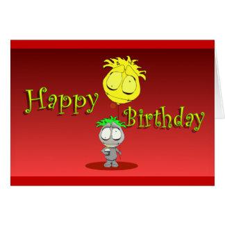 Feliz cumpleaños   que ofrece Lil Ralphie Tarjeta De Felicitación