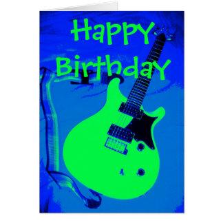 Feliz cumpleaños que usted oscila tarjeta de felicitación