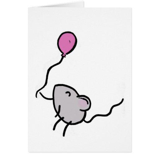 ¡Feliz cumpleaños! Ratón Felicitacion