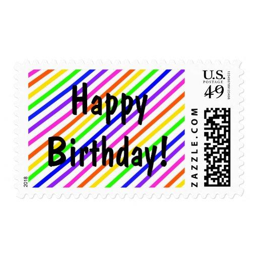 ¡Feliz cumpleaños! Sellos