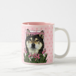 Feliz cumpleaños - Shiba Inus - Yasha Tazas De Café