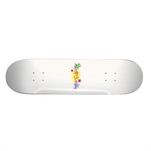 Feliz cumpleaños skate board